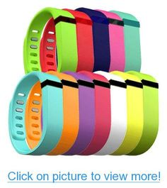 Replacement size Small fitbit Flex bands in various colors... especially Green, white, and blue.