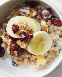 try this sweet treat as an alternative to oatmeal. Breakfast Desayunos, Breakfast Recipes, Breakfast Ideas, Sin Gluten, Healthy Oatmeal Recipes, Healthy Eats, Healthy Cereal, Healthy Breakfasts, Easy Recipes