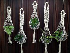 natural macrame plant hanger 5