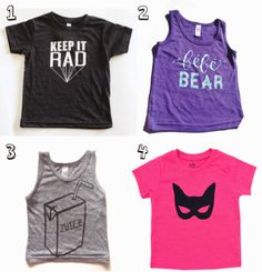 love and lion: 20 fav graphic t's for littles