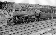 Georgia RR 4-6-2 locomotive #255