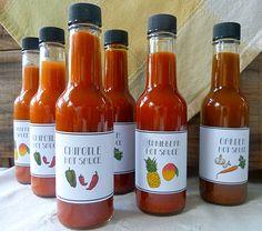 Homemade hot sauces