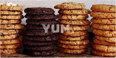Double-Chocolate-Chip Cookies;2 doz// 1½ c + 2 T flour -½ c  + 2 T coc pwdr-1 t bak pwdr-¾ t salt-1 c  soft unsalt butt,-1½ c pack dk br sgr-½ c sugar-2 t instant espresso pwdr- 1 t  vanilla-2 lg egg-1 c choco ch- Whisk flour,cocoa powder, baking powder, salt. Set aside. Beat butter, brown sugar,granulated sugar 4 min,  Add esp pwdr, van,  eggs, beat bet each one. Add flour Add ch chips. Cool 1 hour. baking sheet/parch paper. Bake 350- 12 min- the edges of the cookies gooey/crisp.