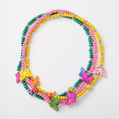 PandaHall Jewelry—Stretchy Wood Necklaces for Kids... | PandaHall Beads Jewelry Blog