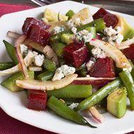 California Beet, Avocado, and Green Bean Salad