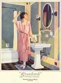 1000 images about vintage decor on pinterest 1920s for Bathroom accessories ads