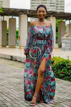 Ankara Silk Dress, The Khartoum Dress, Flowing Ankara Dress, Cocktail dress African Inspired Fashion, Latest African Fashion Dresses, African Print Dresses, African Print Fashion, African Dress, African Attire, African Wear, Silk Dress, The Dress