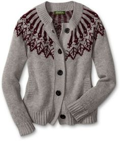 ohhh, this would be my most favorite sweater if I ever made it.