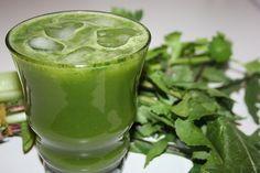 Dandy Dandelion Juice Ingredients: 1 large handful dandelion leaves 2 celery sticks 1 lemon 2 green apples 1 cucumber