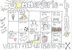 Dette materiale er udarbejdet af Rikke Pal.  Sommerferie er sommerferie uden lektier. Skal dine elever holder sommerferie uden lektie,...