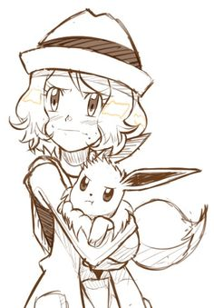 Serena and her Eevee