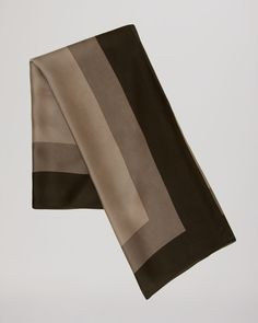 The perfect polished accessory for work: Halston Heritage Border Print Scarf