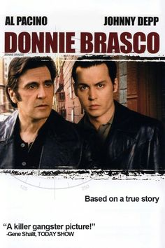 Based on a true story, FBI special agent Joseph Pistone (Johnny Depp) goes undercover as Donnie Brasco to infiltrate the mafia crime families. Al Pacino, Donnie Brasco Movie, Johnny Depp, Mike Newell, Mafia Crime, Documentary Film, Drama Movies, Streaming Movies, Hd 1080p