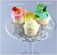 cupcake and cocktails | The Cosmopolitan Cocktail Cupcake, with Cranberry Cosmopolitan cake ...