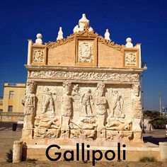 La storica Fontana Greca di Gallipoli -  Gallipoli's historic Greek Fountain