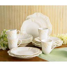 Lenox Butler's Pantry 16-piece Dinnerware Set - Overstock™ Shopping - Great Deals on Lenox Casual Dinnerware
