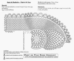 Inspirações de Croche com Any Lucy: Jogo de Banheiro
