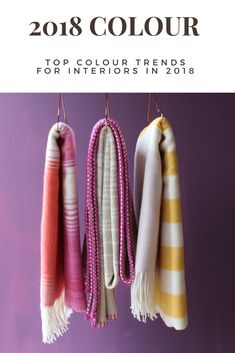 2018 Colour Trends For Interiors