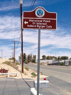 Emma Jeans Holland Burger Cafe in Victorville, Ca.   -A Route 66 icon that has been serving up meals to locals and hungry travelers on the highway since 1947 (Photo by Cheryl Signorelli)