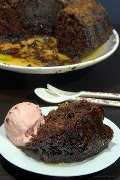 Cake borracho, de chocolate y ron #postres #querico