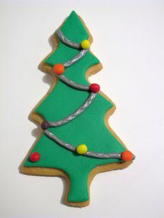 Galleta fondant Navidad salamanca