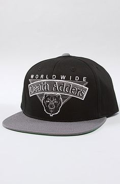 The D.A. Kickoff Snapback in Black Snapback 26027f7397ea