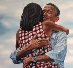 #fourmoreyears  detail  36'x60 oil commissioned by twitter hq