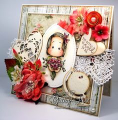 Handmade cards and crafts for inspiration and design team challenges. Magnolia stamps are used in most projects.