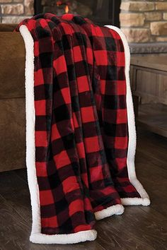 Looking for Carstens, Inc Lumberjack Red Plaid Plush Throw Blanket ? Check out our picks for the Carstens, Inc Lumberjack Red Plaid Plush Throw Blanket from the popular stores - all in one. Red And Black Plaid, Red Plaid, Buffalo Plaid Blanket, Plaid Bedding, Black Forest Decor, Plaid Decor, Plaid Christmas, Christmas Presents, Christmas Decor