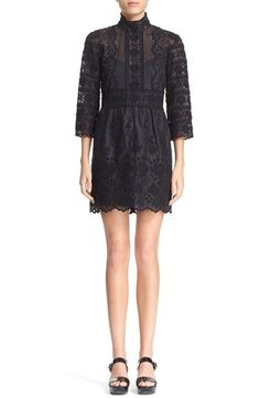MARC JACOBS Broderie Anglaise Cotton Voile Dress available at #Nordstrom