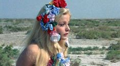 Ewa Aulin, Swedish actress famous in Italy for sexy movies during the 60s.