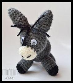 donkey - free pattern (use google translator)