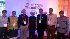 Shantibhai Patel President GJTCI Attending Indian Textile Global Summit -2018 Organized by Gujarat Chamber of Commerce & Industry & MCMM #farmtofashion #indiantextileglobalsummit #2018 #GCCI #MCMM #FarmtoFashion2018. #Textiles #Global #Summit FARM to FASHION
