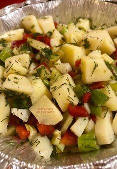 Πατατοσαλάτα η απλή & λαχταριστή !!! ~ ΜΑΓΕΙΡΙΚΗ ΚΑΙ ΣΥΝΤΑΓΕΣ 2 Feta, Potato Salad, Potatoes, Cheese, Ethnic Recipes, Potato