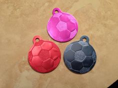 Laser Engraved Soccer Ball Dog or Cat Pet ID by SPCustomAluminum, $7.00 15% off with promocode PINTEREST