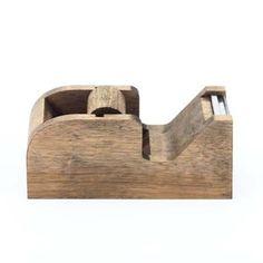 Wooden tape dispenser - Old Faithful