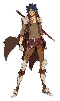 Eisen - homme - épée - mercenaire