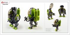 """Raptor series: Tequilatron powersuit"" by Brixnspace: Pimped from Flickr"