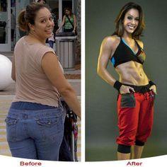 Женщины до и после похудения (72 фото)