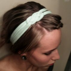 Homemade headband! Success