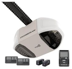 6. Chamberlain Group PD762EV 3/4-HP Heavy-Duty Premium Chain Drive Garage Door Opener, Black Ipad, Chamberlain Garage Door Opener, Best Garage Doors, Chain Drive, Control Panel, Small Kitchen Appliances, Lowes, Hot, Home Depot