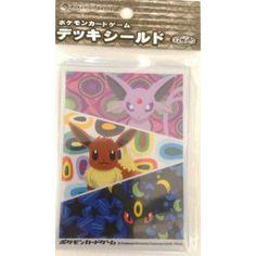 Pokemon Center 2012 Eevee Collection Espeon Eevee Umbreon Set Of 32 Deck Sleeves