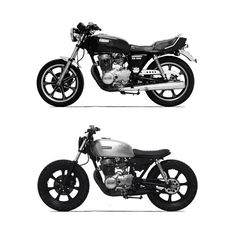 Once again a Yamaha this time an provides the building blocks for this tidy little brat. Cb 450 Cafe Racer, Suzuki Cafe Racer, Yamaha Cafe Racer, Honda Scrambler, Cafe Racer Style, Cafe Racer Build, Brat Bike, Scrambler Motorcycle, Jawa 350