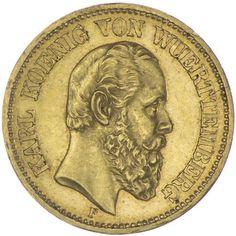 20 Mark 1873 F