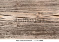 Weathered, cracked wood surface for background - stock photo