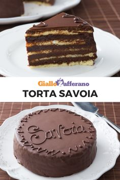 SAVOIA CAKE- TORTA SAVOIA SAVOIA CAKE: a historic dessert of Sicilian origins. it consists of layers of biscuit that alternate with a soft and delicious cream made with 3 types of chocolate and hazelnuts. Let yourself be tasted after tasting. Sweet Recipes, Cake Recipes, Cake Decorating For Beginners, Pastry Cake, Sweet Cakes, Let Them Eat Cake, Just Desserts, Yummy Treats, Sweets
