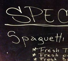 Does the person who wrote spaghetti have a New York accent or something?