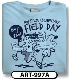 Field day t shirt design by we got spirit tees field day for Single order custom t shirts