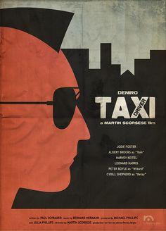 Alternative Taxi Driver Posters - Films - ShortList Magazine
