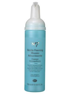 Boots No. 7 Gentle Foaming Mousse cleans skin without leaving it dry or tight